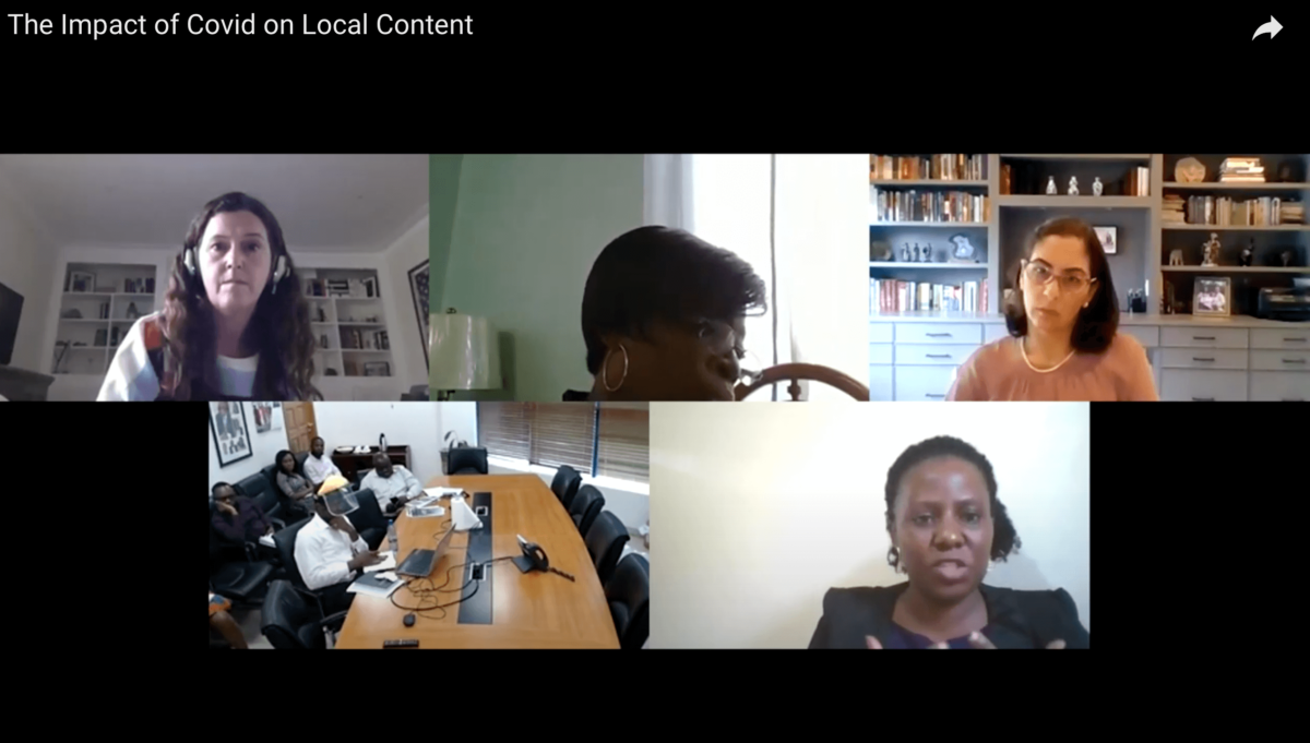 Impact of Covid and the oil price crash on the local content policies